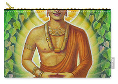 Carry-all Pouch featuring the painting Siddhartha by Sue Halstenberg