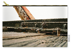 Side Of Rail #photography #trains Carry-all Pouch