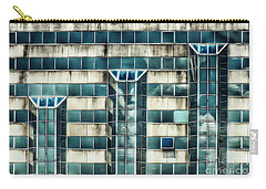 Side Of The Building  Carry-all Pouch by Christy Ricafrente