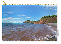 Carry-all Pouch featuring the photograph Sidmouth Jurassic Coast by Scott Carruthers