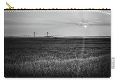 Sidney Lanier At Sunset In Black And White Carry-all Pouch