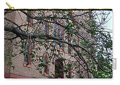 Carry-all Pouch featuring the photograph Sidney Park Cme Church by Skip Willits