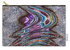 Carry-all Pouch featuring the digital art Sidra by Kiki Art