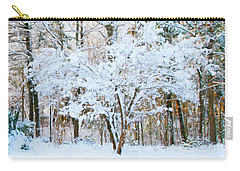 Siebold Viburnum In Snow Carry-all Pouch