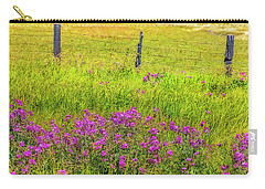 Sierra  Byway Wildflowers Carry-all Pouch