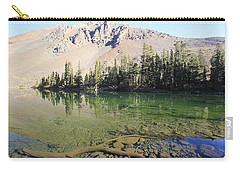 Carry-all Pouch featuring the photograph Sierra Clarity by Sean Sarsfield