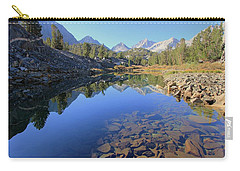 Carry-all Pouch featuring the photograph Sierra Geology by Sean Sarsfield