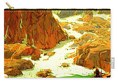 Sierra Landscape Circa 1920 Carry-all Pouch