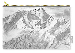 Sierra Mt's Carry-all Pouch by Terry Frederick
