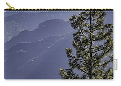 Carry-all Pouch featuring the photograph Sierra Nevada Foothills by Steven Sparks