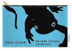 Sierra Newt - Black Carry-all Pouch