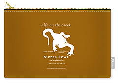 Sierra Newt - White Carry-all Pouch