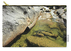 Carry-all Pouch featuring the photograph Sierra Summer Flow by Sean Sarsfield