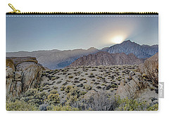 Carry-all Pouch featuring the photograph Sierra Sunrays by Gaelyn Olmsted