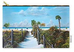 Siesta Beach Access Carry-all Pouch