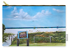 Siesta Key Public Beach Carry-all Pouch
