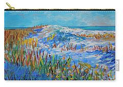 Siesta Key Sand Dune Carry-all Pouch by Lou Ann Bagnall