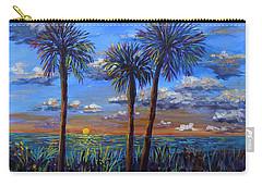 Siesta Summer Sunset Carry-all Pouch by Lou Ann Bagnall