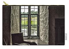 Sights In England - Castle Window 2 Carry-all Pouch by Walt Foegelle