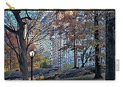 Carry-all Pouch featuring the photograph Sights In New York City - Central Park by Walt Foegelle