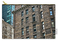 Carry-all Pouch featuring the photograph Sights In New York City - Old And New by Walt Foegelle