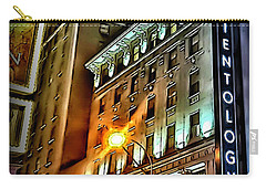 Carry-all Pouch featuring the photograph Sights In New York City - Scientology by Walt Foegelle