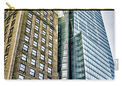 Carry-all Pouch featuring the photograph Sights In New York City - Skyscrapers by Walt Foegelle
