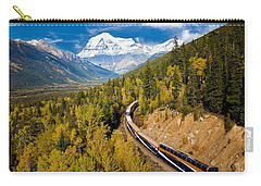 Sightseeing Thru Canadian Rockies Carry-all Pouch
