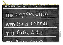 Sign Of A Coffee Lover Carry-all Pouch