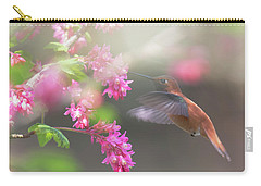 Sign Of Spring 2 Carry-all Pouch by Randy Hall