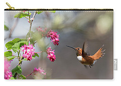 Sign Of Spring 3 Carry-all Pouch by Randy Hall