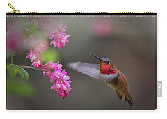 Sign Of Spring Carry-all Pouch by Randy Hall