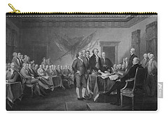 Signing The Declaration Of Independence Carry-all Pouch by War Is Hell Store