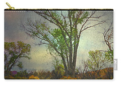 Carry-all Pouch featuring the photograph Signs  by Mark Ross