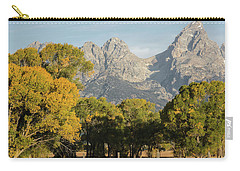 Carry-all Pouch featuring the photograph Signs Of Autum by Colleen Coccia