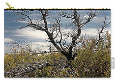 Carry-all Pouch featuring the photograph Signs Of Life After The Fire by Joe Kozlowski