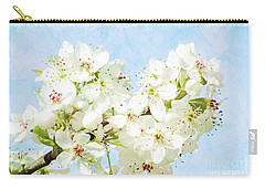Signs Of Spring Carry-all Pouch by Inspirational Photo Creations Audrey Woods