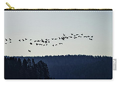 Signs Of Spring - Migrating Geese Carry-all Pouch
