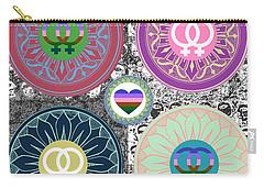 Silberzweig - Karma Mandela -  Pride Female - Ruby Carry-all Pouch
