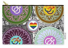 Silberzweig - Karma Mandela - Pride Male - Jade Carry-all Pouch