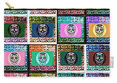Silberzweig - Sugar Skull Mosaic -  Carry-all Pouch