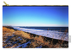 Silence At Black Sand Beach Carry-all Pouch