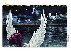 Silence Of An Angel Carry-all Pouch