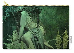 Silence Of The Night Carry-all Pouch