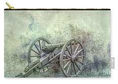 Carry-all Pouch featuring the digital art Silent Cannon Field Of Fire by Randy Steele