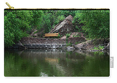 Carry-all Pouch featuring the photograph Silent Company by Elaine Malott