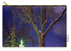 Carry-all Pouch featuring the photograph Silent Night by Cat Connor