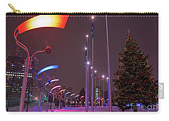 Carry-all Pouch featuring the photograph Silent Night.. by Nina Stavlund