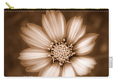 Silent Petals Carry-all Pouch