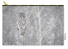 Silent Snowfall Landscape Carry-all Pouch by Everet Regal